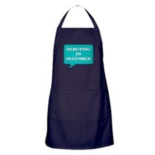 DEBUTING IN DECEMBER MATERNITY TALK BUBBLE Apron (