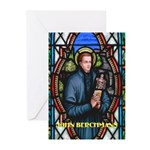 Saint John Berchmans Greeting Cards (Pk of 10)