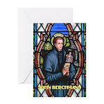 Saint John Berchmans Greeting Card