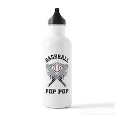 Baseball Pop Pop Water Bottle