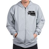 Pray For Oklahoma Zip Hoody