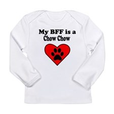 My BFF Is A Chow Chow Long Sleeve T-Shirt