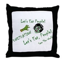 Punctuation Throw Pillow