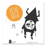 "Book Week t-shirt - undated Square Car Magnet 3"" x"