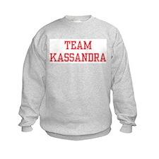 TEAM KASSANDRA  Sweatshirt