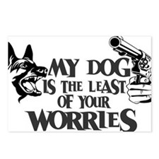 Least of Your Worries Postcards (Package of 8)