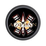 Unique Aztlan Wall Clock