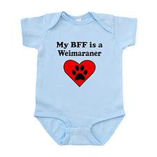 My BFF Is A Weimaraner Body Suit