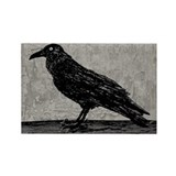 a-raven_new_13-5x18.jpg Rectangle Magnet