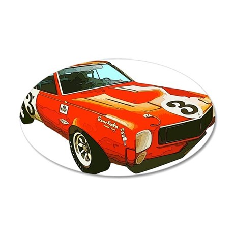AMC Javelin Trans-Am Wall Decal