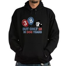 38 year old birthday design Hoodie