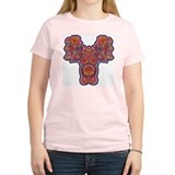 Red Quetzalcoatl Women's Pink T-Shirt