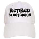 Retired Electrician Gift Baseball  Baseball Cap