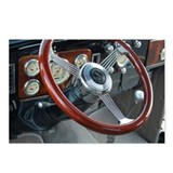 Vintage Classic Car Interior Postcards (Package of