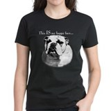 Bulldog Happy Face Tee