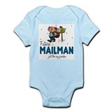 Future Mailman like Grandpa Baby Body Suit