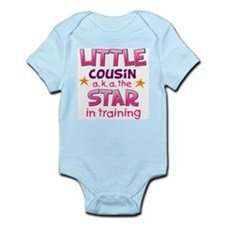 Little Cousin - Star (Pink) Body Suit