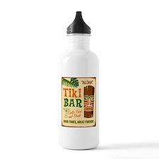 Tiki Bar Water Bottle