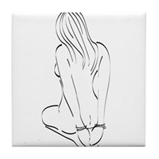 Bound Beauty Tile Coaster