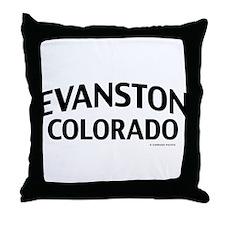 Evanston Colorado Throw Pillow