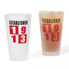 Established 1913 Drinking Glass