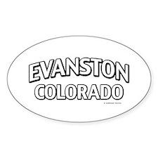 Evanston Colorado Decal