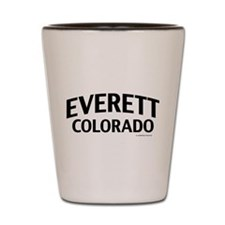 Everett Colorado Shot Glass