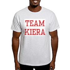 TEAM KIERA  Ash Grey T-Shirt
