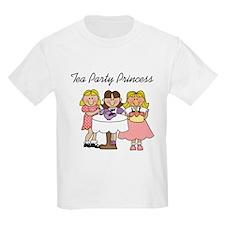 Tea Party Princess Kids T-Shirt