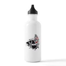 Parkinsons Disease Butterfly Water Bottle
