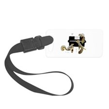 Squirrels at the Piano Luggage Tag