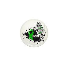 Neurofibromatosis Butterfly Mini Button (100 pack)