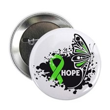 "Muscular Dystrophy Butterfly 2.25"" Button (100 pac"