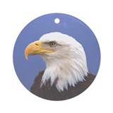 Bald Eagle 2 Ornament (Round)