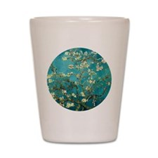 Van Gogh Almond Blossoms Tree Shot Glass