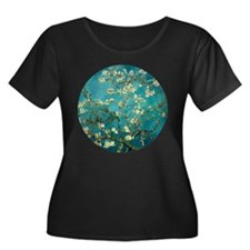 Van Gogh Almond Blossoms Tree Plus Size T-Shirt