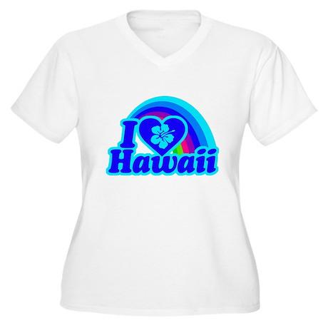 I Love Hawaii Plus Size T-Shirt
