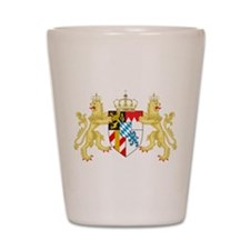 Coat of arms of the Kingdom of Bavaria Shot Glass