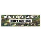 2nd Amendment Bumper Bumper Stickers