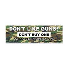 2nd Amendment Car Magnet 10 x 3