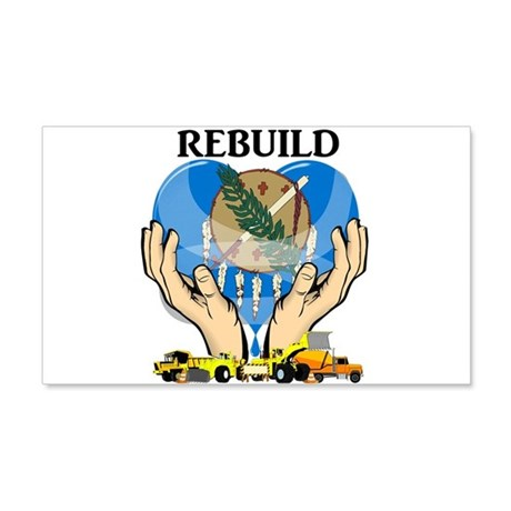 Rebuild Oklahoma Wall Decal