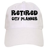 Retired City Planner Gift Baseball Baseball Cap