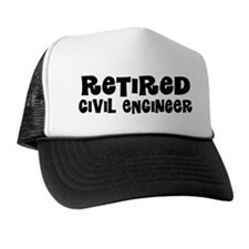 Retired Civil Engineer Gift Trucker Hat