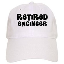 Retired Engineer Gift Baseball Baseball Cap
