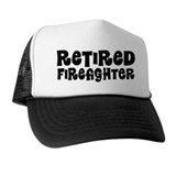 Retired Firefighter Gift Trucker Hat