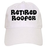 Retired Roofer Gift Baseball Baseball Cap