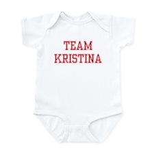 TEAM KRISTINA  Infant Creeper