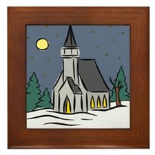 Church Framed Tile
