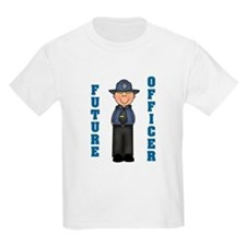 Future Officer (Boy) Kids T-Shirt