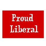 Proud Liberal Postcards (Package of 8)